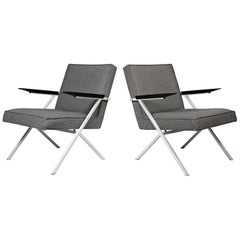 Ladislav Rado Cantilevered Lounge Chairs for Knoll and Drake, 1950s