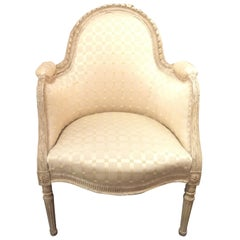 Late 19th Century French Louis XVI Berger's Chair