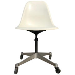 Herman Miller Eames Fiberglass Desk Chair Model PSCC