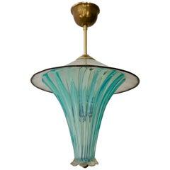 Italian Murano Glass Hollywood Regency Pendant
