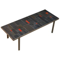 Belgium Tile Top Coffee Table by Pia Manu
