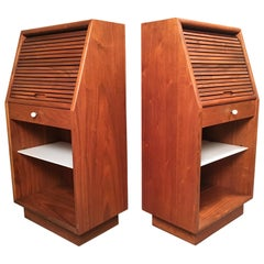 "Kipp Stewart & Stewart MacDougall ""Declaration"" Nightstands for Drexel"