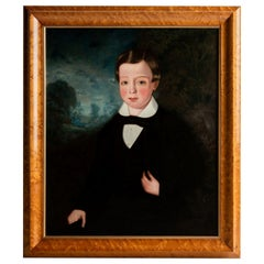 Portrait of a Young Boy, England, circa 1850