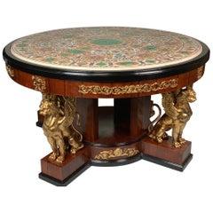 Pietra Dura Empire Table