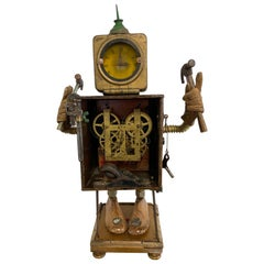 "Linda Semple ""Time to Make Something"" Folk Art Sculpture"