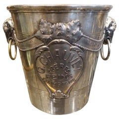 Stunning Ornate French Vintage Champagne Cooler, G. Chauvet