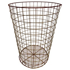 Wire Trash Can