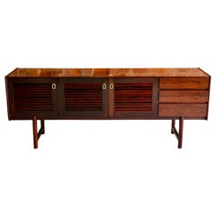 Midcentury A. H. McIntosh & Co of Kirkcaldy Rosewood Sideboard Credenza, 1970s