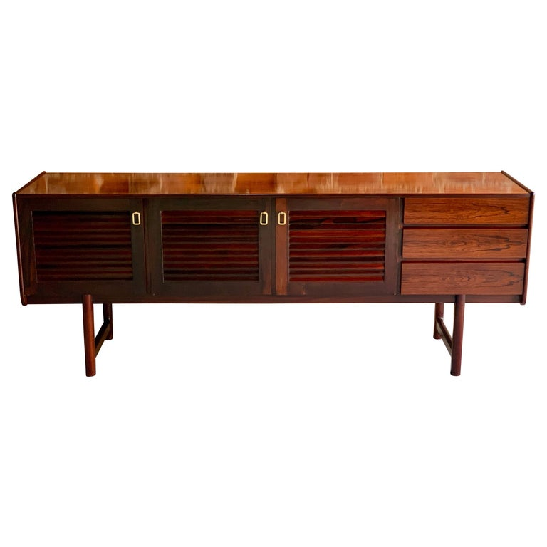 new style d747a 2c75b Midcentury A. H. McIntosh & Co of Kirkcaldy Rosewood Sideboard Credenza,  1970s