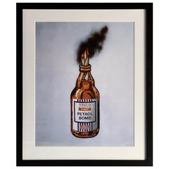 Banksy Tesco Petrol Bomb unsigned