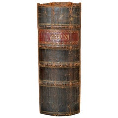 Antique Danish Leather-Bound Bible Book From 1802