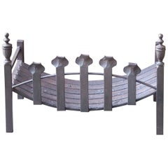 English Victorian Style Fireplace Grate, Fire Grate