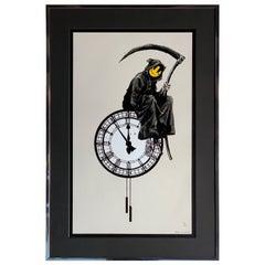 Banksy Grin Reaper 2005 'Banksy British, b.1974' Signed