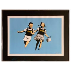 Banksy Jack and Jill, 2005 unsigned