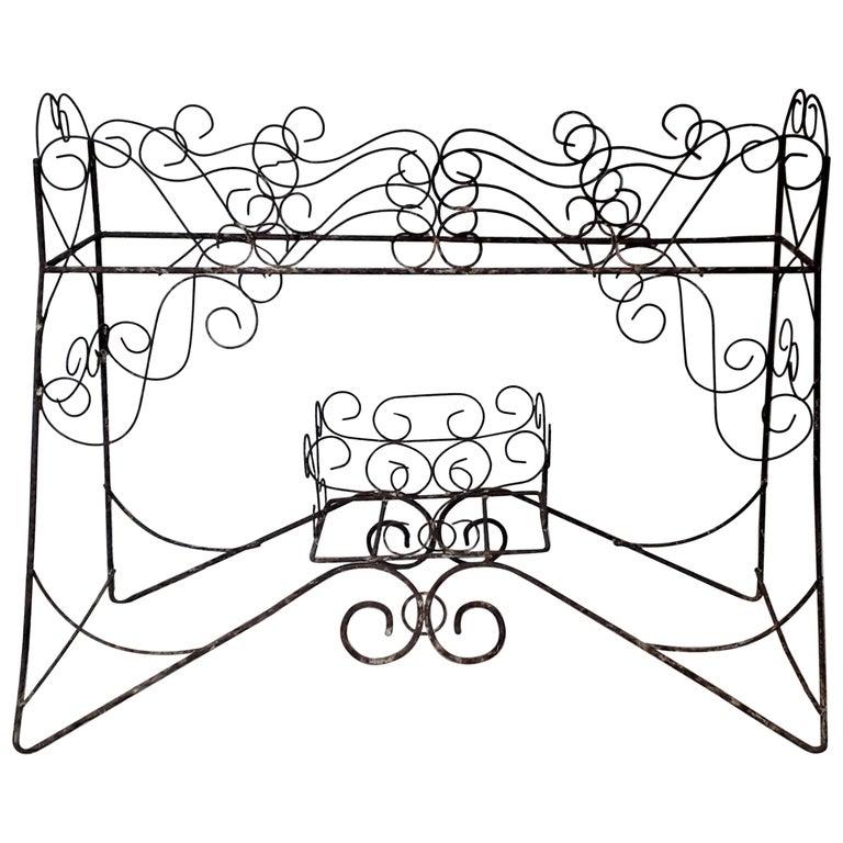 19th Century Wirework Jardinière For Sale