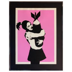 Bansky Bomb Hugger Bomb Love 2005 'Banksy British'