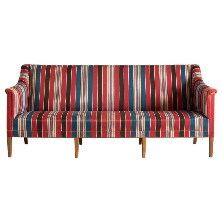 Kaare Klint Three-Seat Sofa for Rud. Rasmussen For Sale