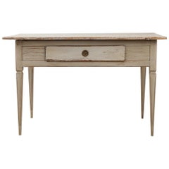 19th Century Large Gustavian Styled Writing Table
