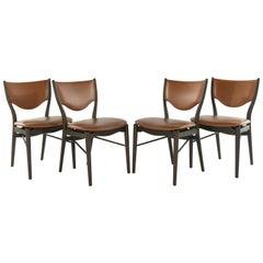 Set of 4 Side Chairs by Finn Juhl for Bovirke Model BO-63, 1952