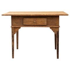 19th Century Gustavian Styled Swedish Folk Art Table