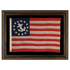 American Private Yacht Flag with 13 Stars