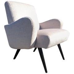 Beautiful Pair of Mid-Century Modern Lounge Chairs
