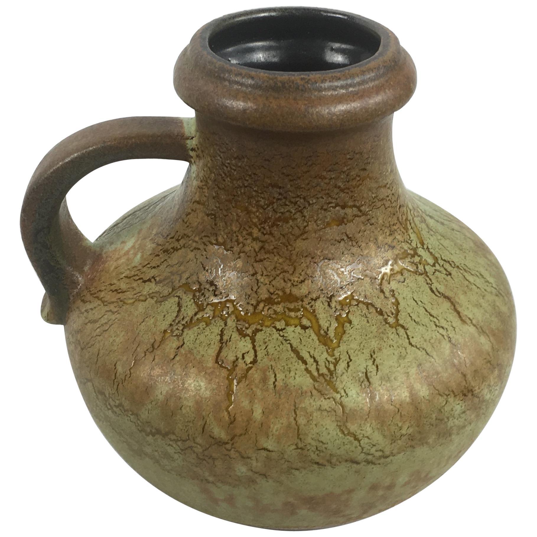 Midcentury Studio Pottery Jar or Jug for Scheurich Keramik