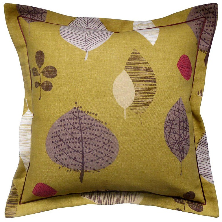 Vintage Cushions Luxury Bespoke-Made Linen Pillow 'Perry Green', Made in London