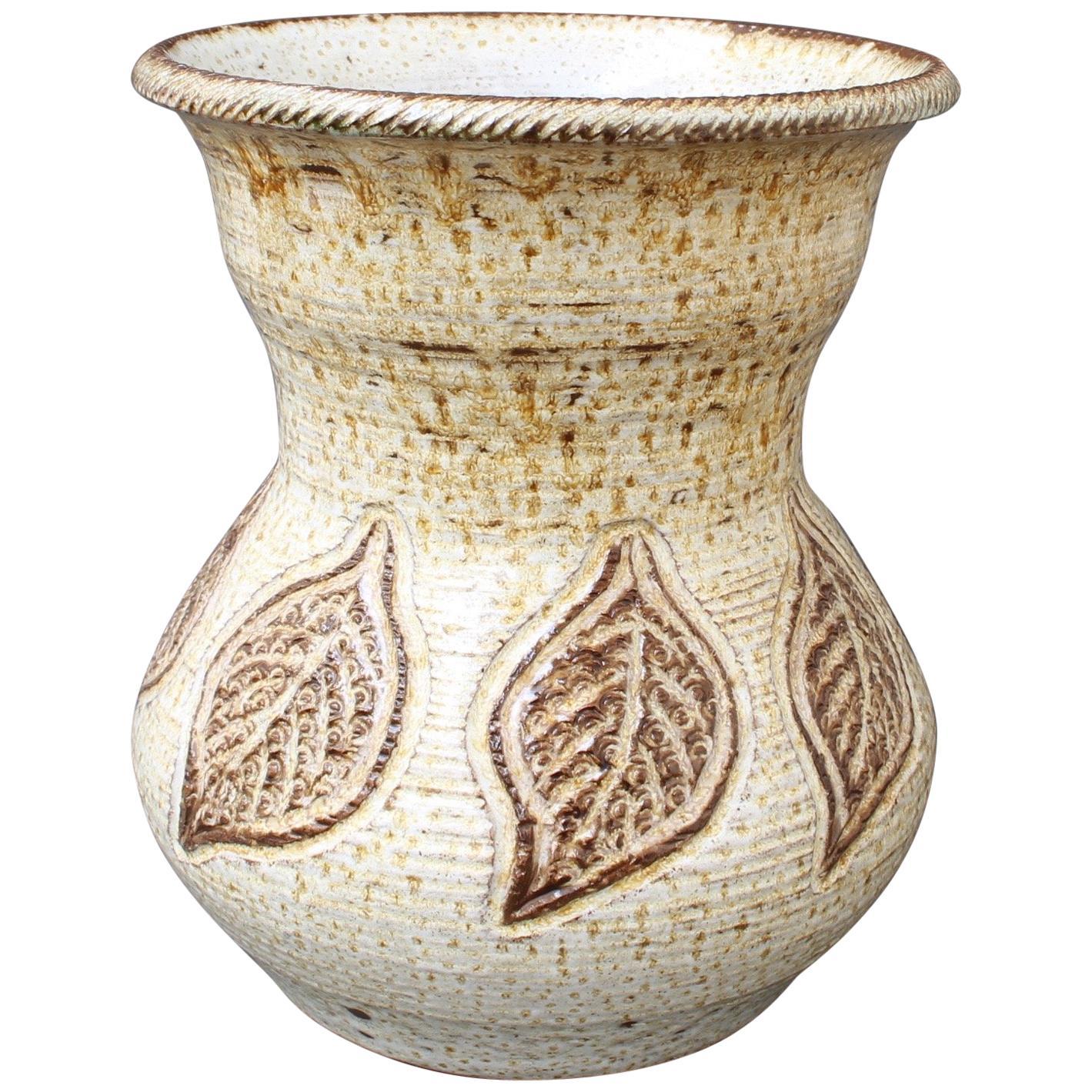 Midcentury Ceramic Vase by Marcel Giraud, Vallauris, 'circa 1960s'