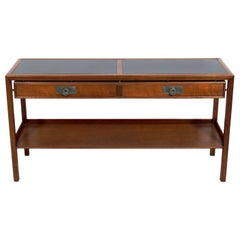 Asian Influenced Console by Michael Taylor for Baker