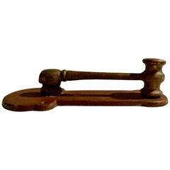 Brass 'Gavel' Door Knocker