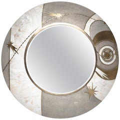 Art Deco Convex Mirrors