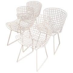 Set of 4 Knoll Bertoia Chairs