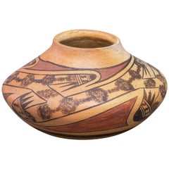 Historical Southwestern Pottery Seed Jar by Nampeyo, Hopi, Early 20th Century