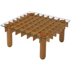 Gianfranco Frattini 'Kyoto' Coffee Table