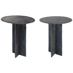 Two French Tables d'Ardoise