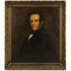 Antique Oil Painting, Gentleman's Portrait, Oil Portrait, England, 1820