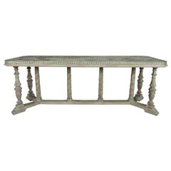 Italian Neoclassical Style Painted Carved Console C. 1930's