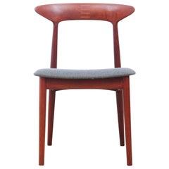 Mid-Century Modern Scandinavian Set of 4 Teak Dinning Chairs by Kurt Østervig
