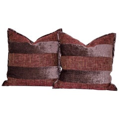 Pair of Velvet Pillows