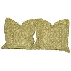 Pair of Trellis Pillows