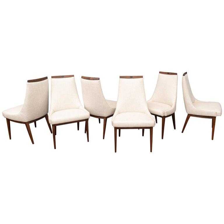 Mid-Century Modern Kipp Stewart Dining Chairs For Sale