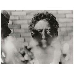 Vintage Alberto Giacometti Photography, Paris Match