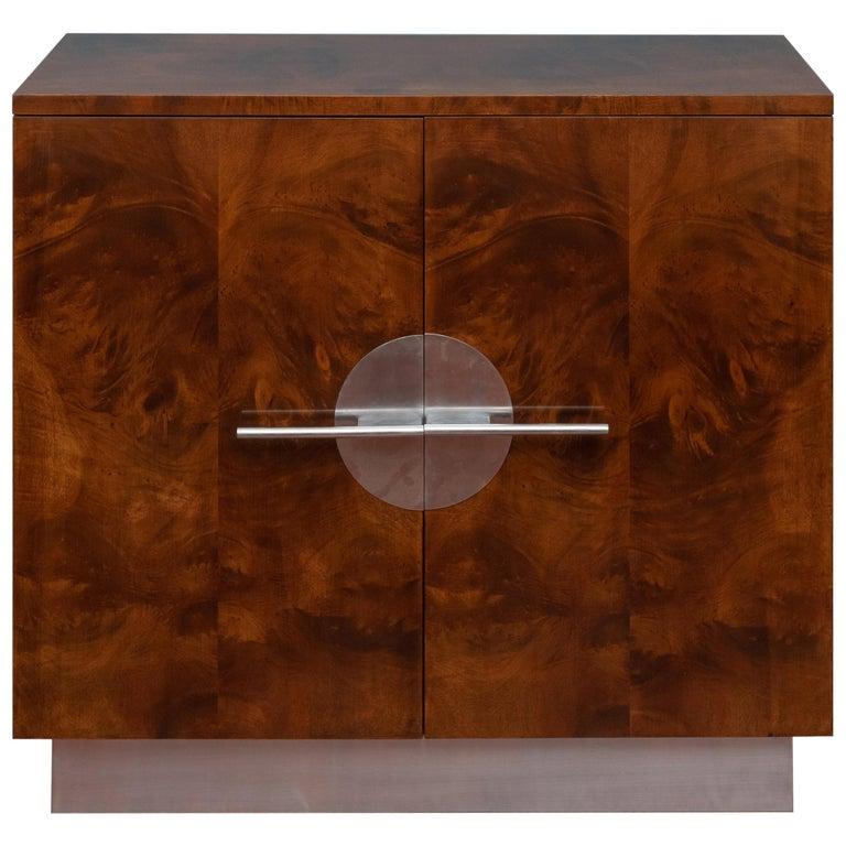 Art Deco Streamline Cabinet by Walter Dorwin Teague For Sale