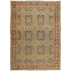 Large Antique Persian Bakhtiari Carpet
