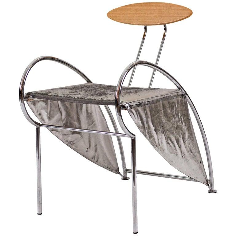 """Rare Massimo Iosa Ghini 1987 Italian Design Chair """"Velox"""" Original, 20th Century For Sale"""