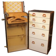Large Goyard Wardrobe Trunk