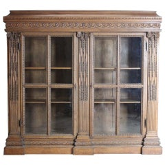 19th Century French Oak Bookcase