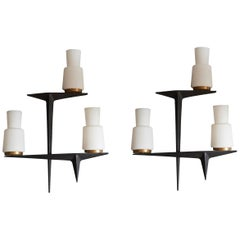 Pair of Maison Arlus Wall Sconces
