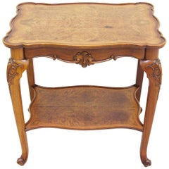 Tea Table Antique Chippendale Rustic Minibar Side Table Bar Old
